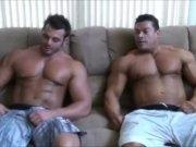 Muscle gay men massage