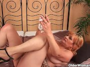 Granny with big tits gets fucked hard
