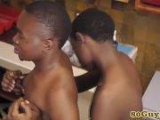 Gay african barebacking amateur twinks