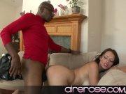 Kayla West enjoys herself a big ol black cock