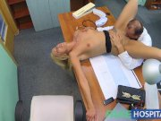 FakeHospital Doctor fucks wife in his office