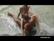 Naughty Couples Fucking at Nudist Beach