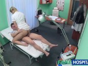 FakeHospital Caught giving nurse a creampie