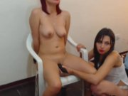 Two Naughty Lesbian Cam Babe Playing