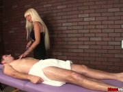 Milf masseuse dominant session