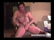 Homemade Video of Mature Amateur Ray Jacking Off