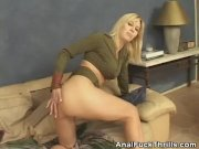 Анальное домашнее порно красивой телки с парнем