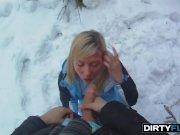 Dirty Flix - Jessy Brown - Snowboarder chick