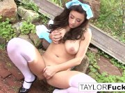 Emily Addison and Taylor Vixen Foot Fetish