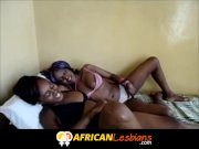 Purple hair South African lesbian fucked