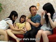 Японец оплатил секс с тремя малышками, порно кастинг азиатки