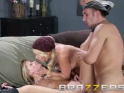 Brazzers - Two hot blondes Alexis Monroe & Jessa Rhodes share one lucking c
