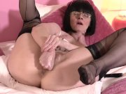FFstockings - Fist and Panty Stuffing