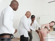 Private - Paulina Soul Shines In 4 Big Black Cock Orgy!