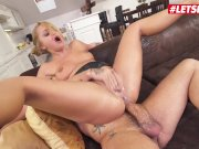 LETSDOEIT - Daphne Klyde Gets Ass Fucked Until She Squirts