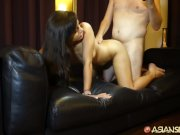Asian Sex Diary - Young Asian babe gets filled up by big dick - Part 2