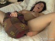 Yanks Amber B. Humps Her Purse