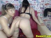 She Got Her Pussy Eaten By Her Lesbian Friend