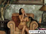 Sybian action with Indian MILF  beauty Priya Rai