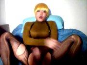 Hot Chinese CD Sissy Masturbation Cam