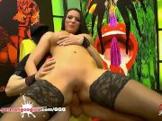 Jolee Love like's hard cock to be deep in her ass. Germangoogirls