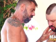 BEARFILMS Horny Cub Adam Jones Sucked Off Before Breeding