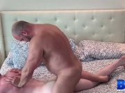 BREEDMERAW Blond Hunk Riley Ward Fed Cock And Fucked Raw