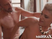 MARISKAX Busty blonde MILF Valentina Babe has her ass stuffed