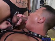 PETERFEVER Bound Asian Stud Alex Chu Fucked By Inked Master