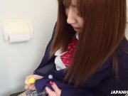 Japanese schoolgirl, Misaki Asuka had sex, uncensored