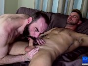 BREEDMERAW Steve Sommers Flip Fucks With Inked Stud After BJ