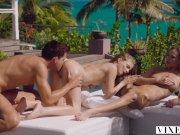 VIXEN Addie & Cayenne live out their threesome fantasy