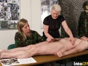 British army femdoms commanding sub to jerk