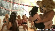 Happy orgy - Happy bear having a party