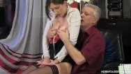 Horny mature maids Old cock fucks young russian maid