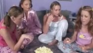 Sleeping lesbian movies Sleep over ending sex