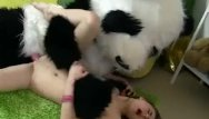 Baguette channel set vintage eternity ring - Sassy girl panda fucked for eternal life