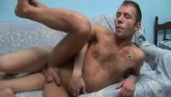 Ass ejaculating gay inside man Big cum on his face and inside his asshole