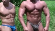 Body body builder building flex gay muscle Frank defeo flexing