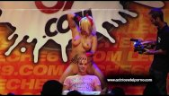 Erotic nudists tube Jenny one strip show in erotic festival