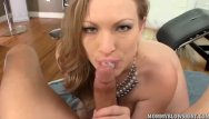 Vicki swinger - Curvy milf vicky vixen sucks young cock
