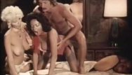 Vintage british porn video - Threesome porn video with vintage pornstars