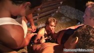 Teen farm sex vidoeo - Horny bitch gets fucked hard in a farm
