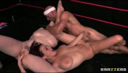 Midget wrestler pictures Tag team oil wrestlers go at it - brazzers
