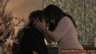 Japanese mature slut Hot slut rumi kazama sucks and fucks