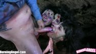 Zombie strippers video online Burning angel evil head zombie fucking orgy