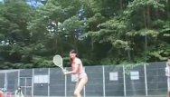 Asian tennis - Asian dolls playing tennis