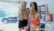 Femdom scene movie - Jayden jaymes behind the scenes