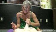 Sexy smoking granny Smoking granny handjob