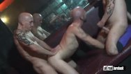 Gay florida sauna Threesome breeder in sauna